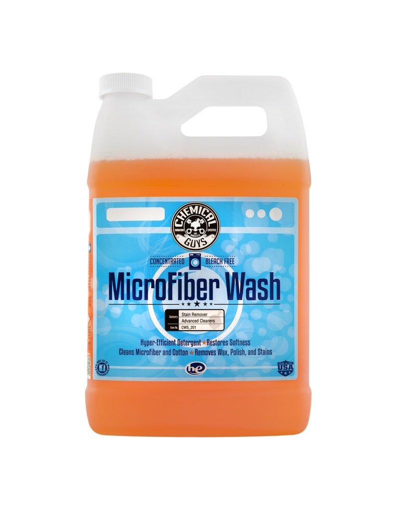 Chemical Guys CWS_201 Microfiber Rejuvenator Microfiber Wash Cleaning Detergent Concentrate (1 Gal)