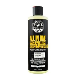 Chemical Guys V4 Extreme All-In-1 Polish, Shine & Sealant(New Yellow Color) (16 oz.)