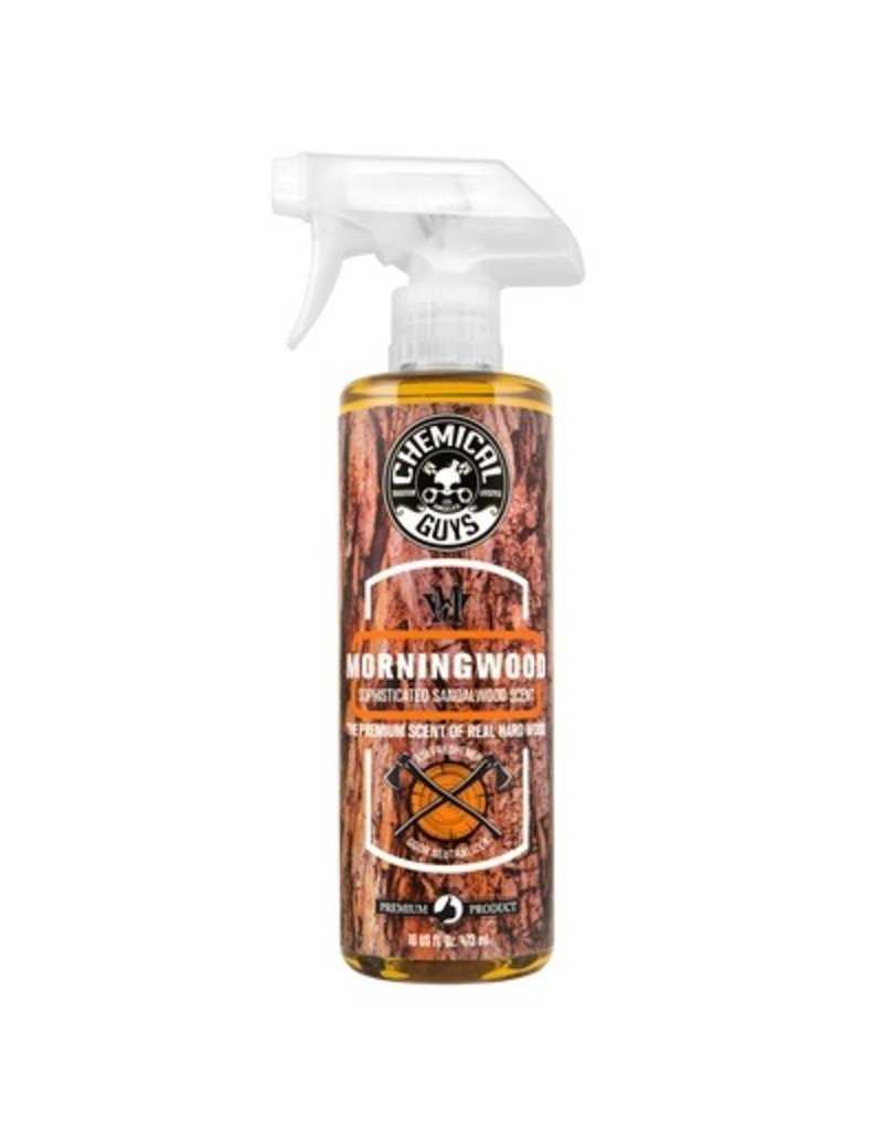 Chemical Guys AIR23016 Morning Wood Sophisticated Sandalwood Scent Air Freshener & Odor Neutralizer, 16 fl. oz