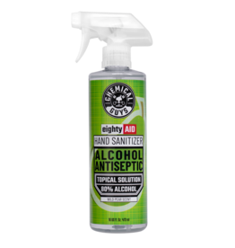 Chemical Guys EightyAIDWild Pear ScentHand Sanitizer Alcohol Antiseptic 80% Topical Solution (16 oz)