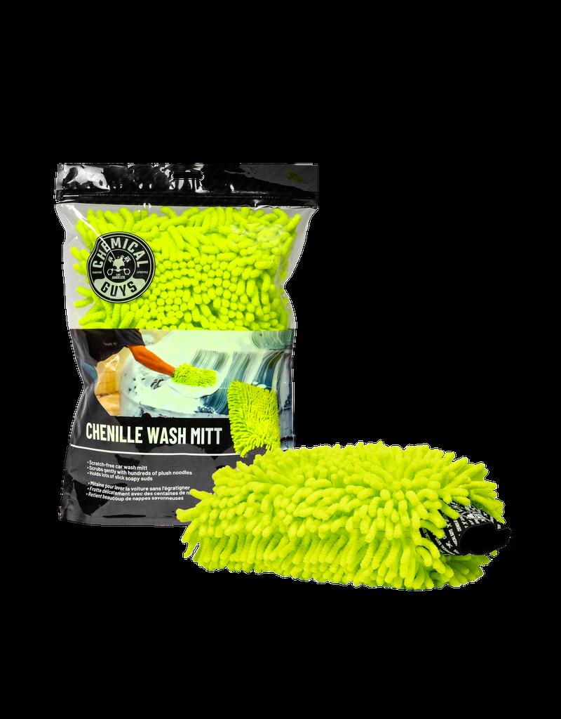 Chemical Guys MIC493 Chenille Premium Scratch-Free Microfiber Wash Mitt