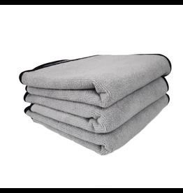 Chemical Guys Ultra Plush Microfiber Detailing Towel, 16'' X 16'' (3 Pack)