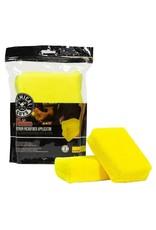 Chemical Guys MIC28902 Workhorse Premium Microfiber Applicator, Yellow
