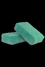 Chemical Guys MIC28802 - Green - Microfiber Applicator Premium Grade (2 Pack)