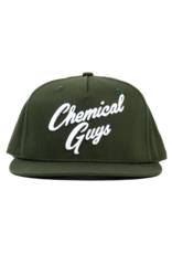 Chemical Guys SHE911 - Chemical Guys Olive Green Script Hat