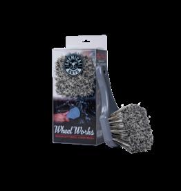 Chemical Guys CG Wheel Works Wheel & Body Brush (Grey)