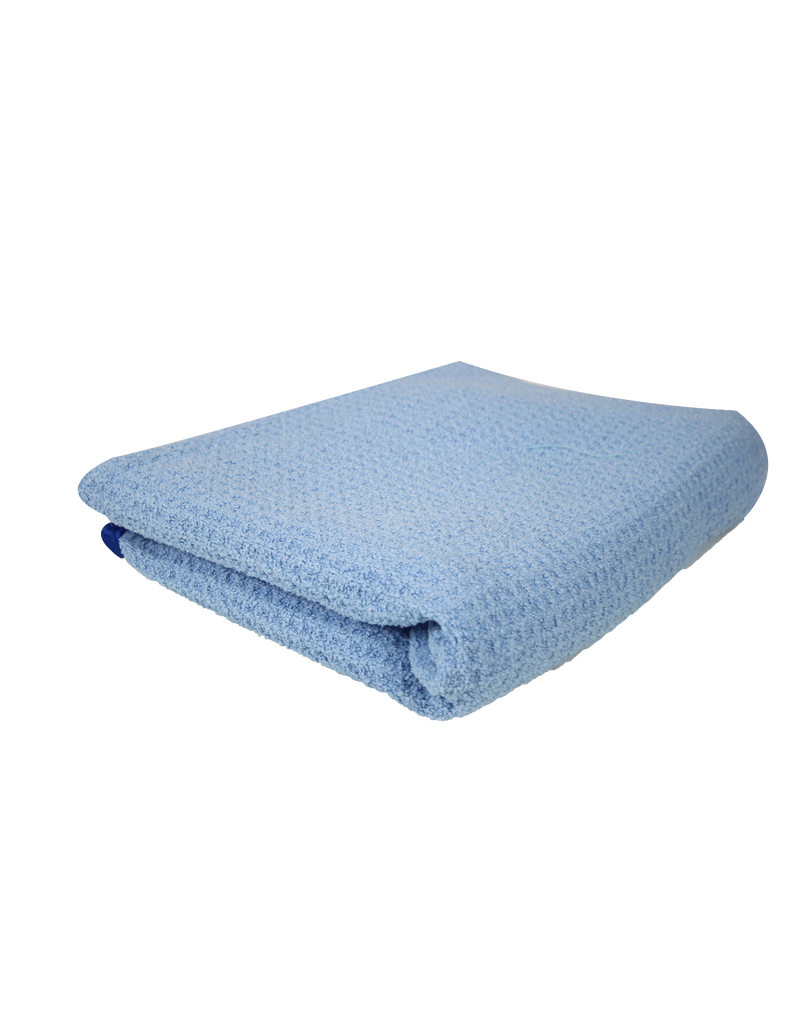Chemical Guys MIC_703S_01 Super Absorber Waffle Weave Drying Microfiber Towel, Blue 25'' X 36''