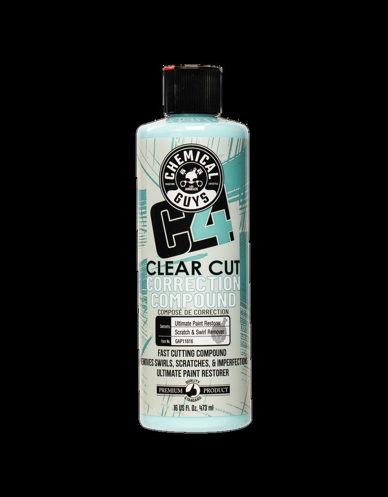 Chemical Guys GAP11616 - C4 Clear Cut Correction Compound (16 oz)