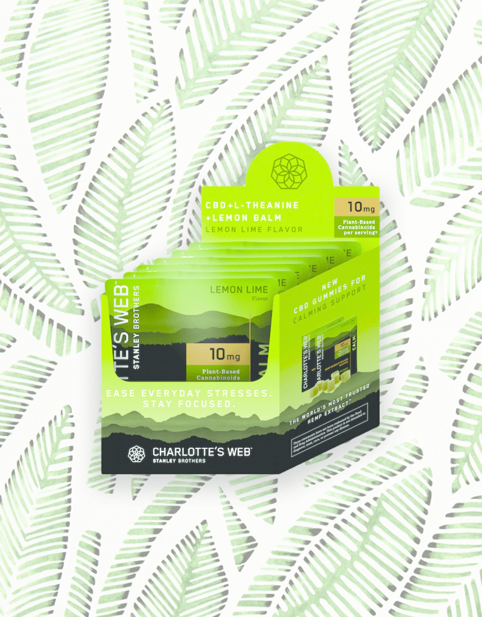 Charlotte's Web Charlotte's Web Hemp Gummies Lemon Lime 6 Count Packets