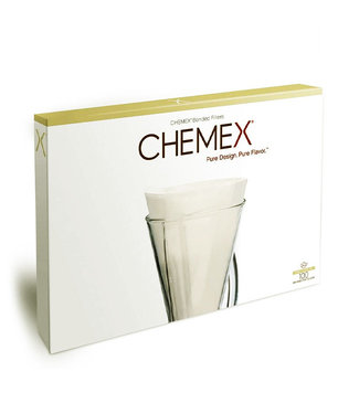 CHEMEX HALF MOON 3 CUP COFFEE FILTER