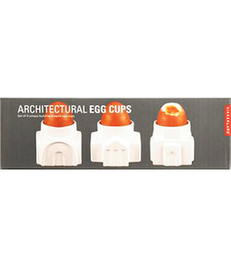 ARCHITECTURAL EGG CUP SET