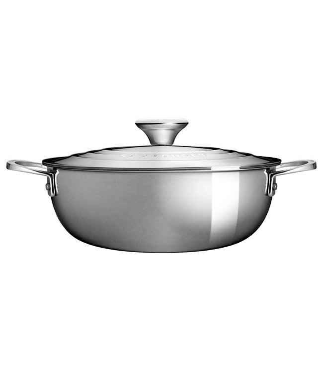 STAINLESS STEEL RISOTTO POT