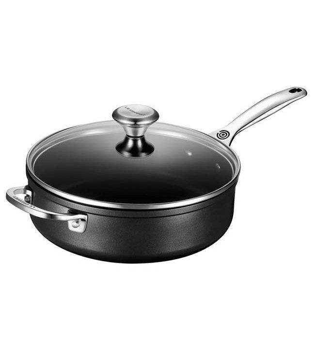 TOUGHENED NONSTICK SAUTE PAN
