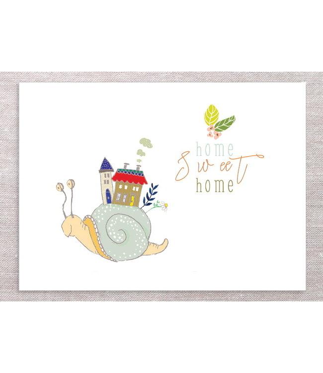 SNAIL HOME SWEET HOME