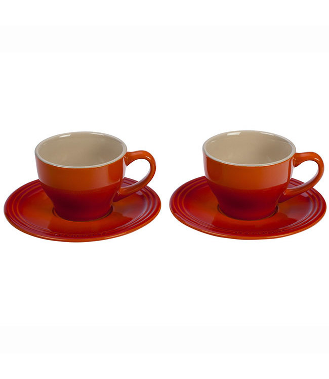 CAPPUCCINO CUP AND SAUCER SET