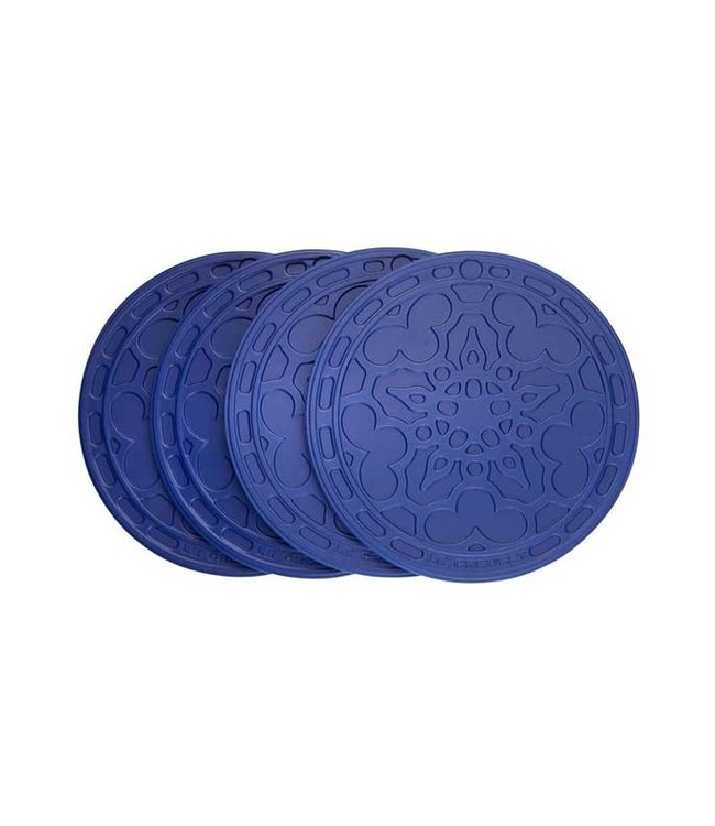 SILICONE FRENCH COASTERS