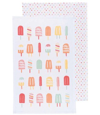 POPSICLE TEA TOWEL SET