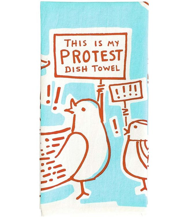 PROTEST DISH TEA TOWEL
