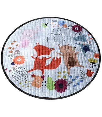 QUILTED TOY PLAY/STORAGE MAT