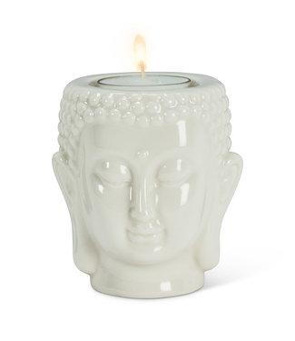 BUDDHA PORCELAIN TEALIGHT HOLDER