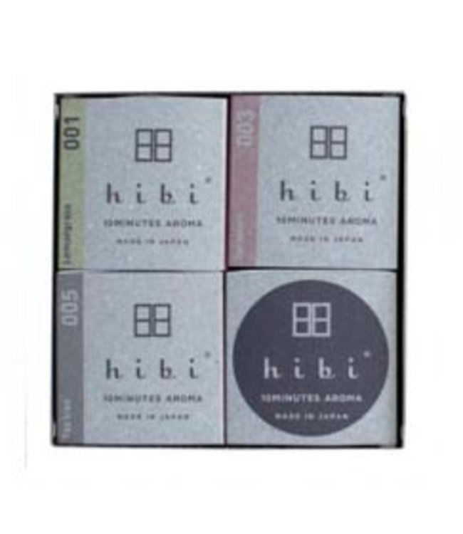 HIBI JAPANESE INCENSE MATCHES GIFT PACK