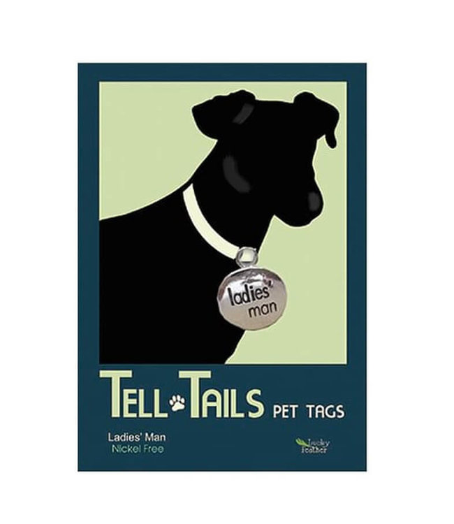 PET TAGS TELL TAILS