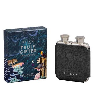 TED BAKER DOUBLE HIP FLASK