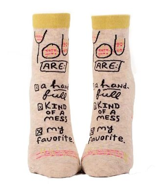 YOU ARE WOMEN SOCK