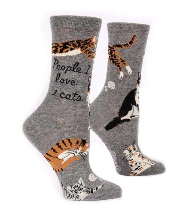 PEOPLE I LOVE: CAT WOMEN SOCK
