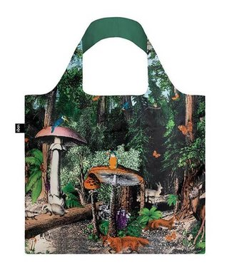 LOQI TOTE BAG - FOREST