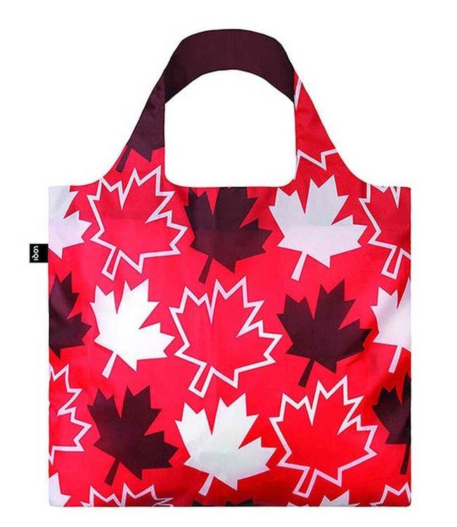 LOQI CANADA MAPLE LEAF TOTE BAG