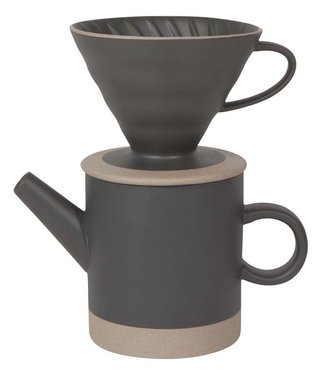 POUR OVER  MATTE BLACK