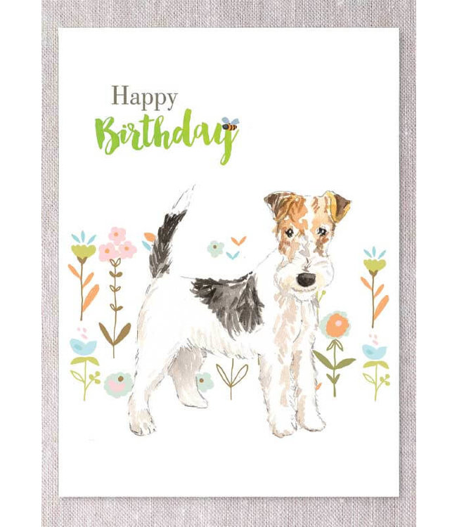 WIRE HAIRED FOX TERRIER