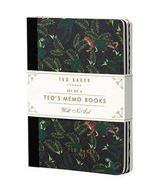 TED BAKER MEMO NOTEBOOKS