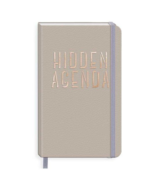 HIDDEN AGENDA NOTEBOOK
