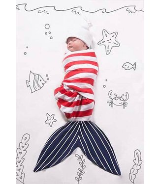 SHARK SWADDLE WRAP