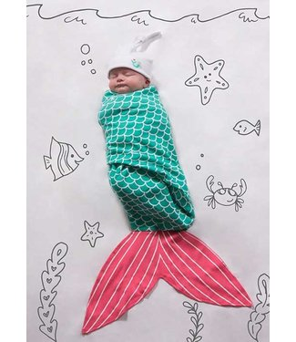 MERMAID SWADDLE WRAP