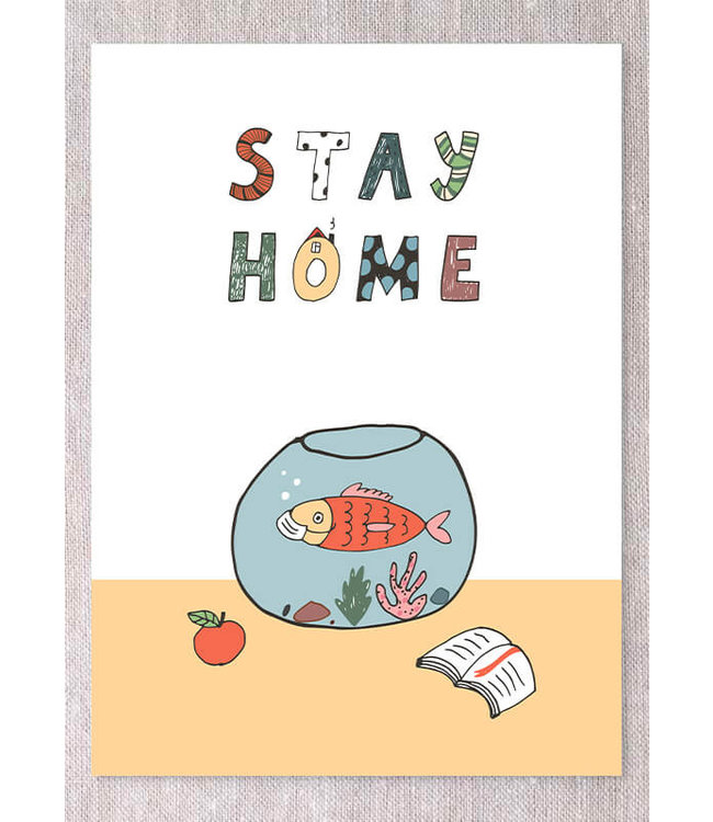 STAY HOME GREETING CARDS