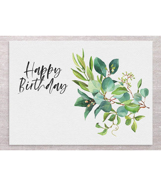 EUCALYPTUS BIRTHDAY CARD