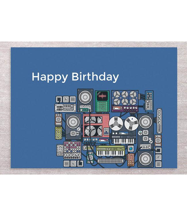 MODULAR BIRTHDAY CARD