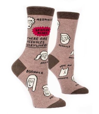 ASSHOLES EVERYWHERE WOMEN SOCK