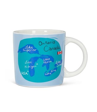 GREAT LAKE ONTARIO CANADIAN MUG