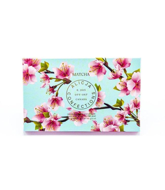 MATCHA GREEN TEA CHOCOLATE BAR POST CARD