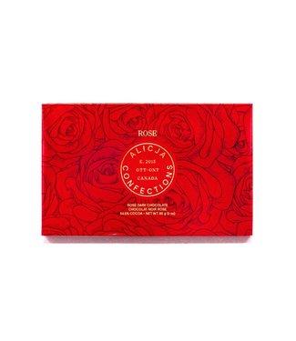ROSE CHOCOLATE BAR POST CARD