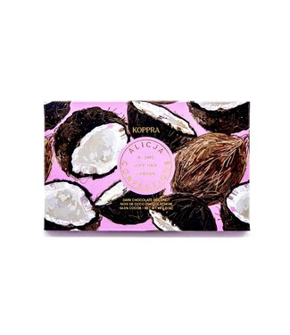 KOPPRA COCONUT CHOCOLATE BAR POST CARD