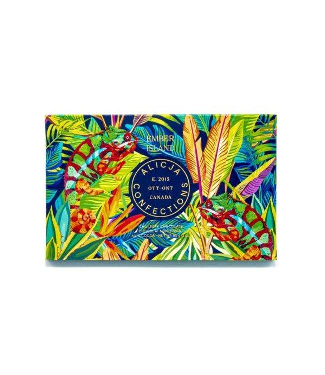 EMBER ISLAND CHILI CHOCOLATE BAR POST CARD