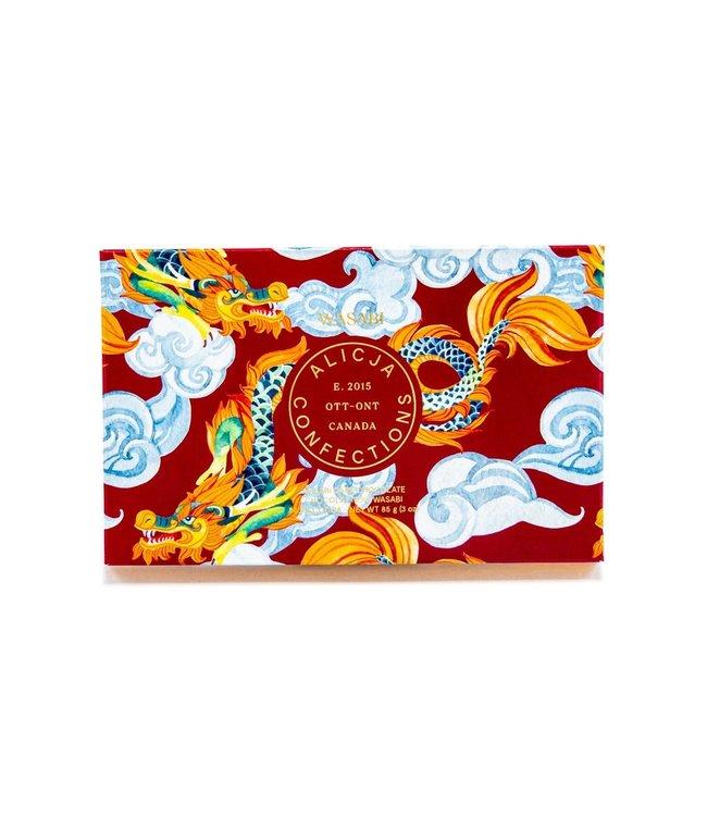 WASABI CHOCOLATE BAR POST CARD