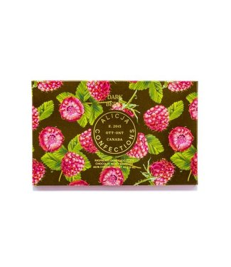 DARK BERRY RASPBERRY CHOCOLATE BAR POST CARD