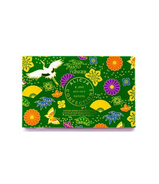GINGER CHOCOLATE BAR POST CARD