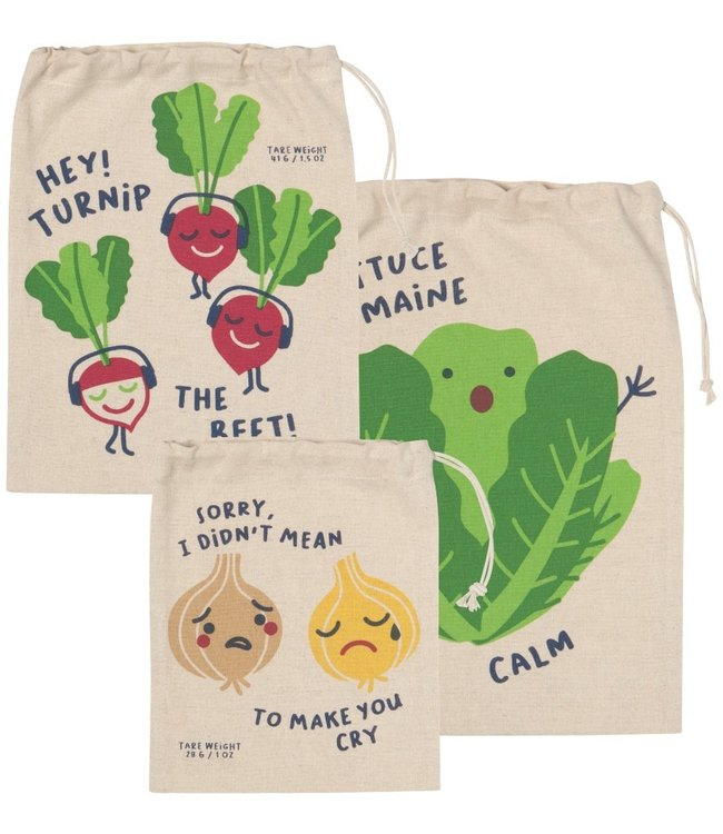 FUNNY FOOD PRODUCE BAG